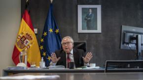 Manuel Castells, ministro de Universidades.Olmo Calvo