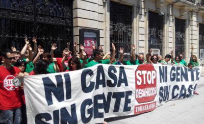 El suicidio de una mujer en Madrid certifica la desprotección de las personas que no pueden pagar el alquiler