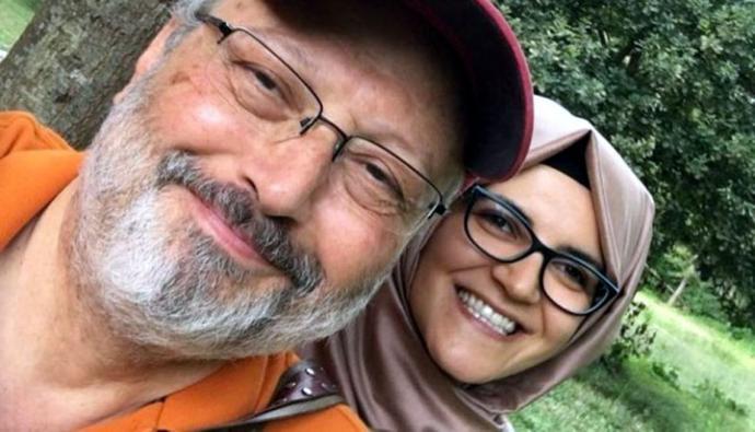 Hatice Cengiz, la prometida del periodista saudita Jamal Khashoggi en una imagen de archaivo