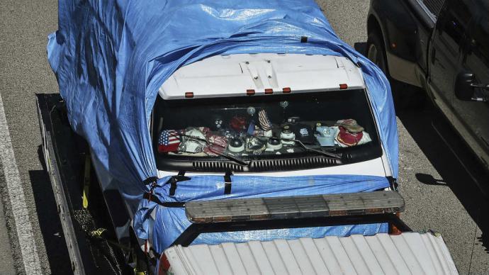 Sospechoso de enviar bombas en EEUU fue acusado de cinco delitos