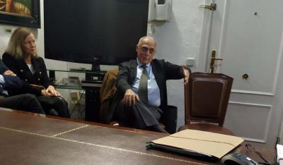 """""""Evocando a Pérez Galdós y su obra"""", conferencia del historiador Morales Lezcano en Delegación del Gobierno de Canarias en Madrid"""