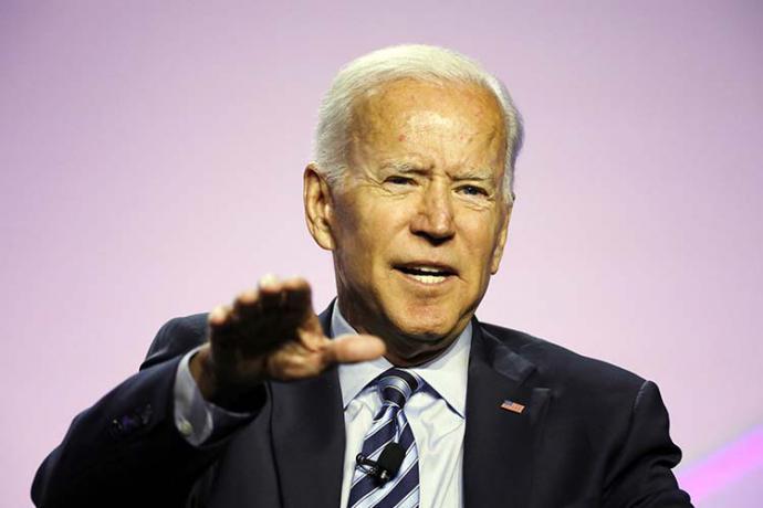 El septuagenario Joe Biden es favorito en las primarias demócratas,
