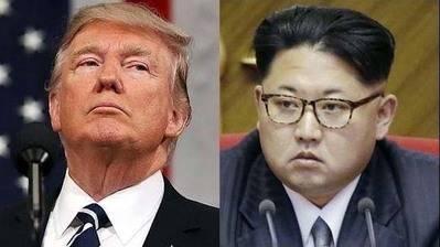 El presidente de Estados Unidos, Donald Trump, y el dictador de Corea del Norte, Kim Jong-un.