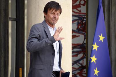 Ex ministro francés de transición ecológica, Nicolas Hulot