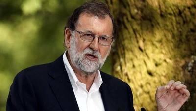 Rajoy solicita a indepentistas catalanes que renuncien a divisiones