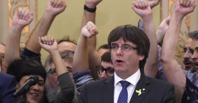 El Supremo renuncia a juzgar a seis políticos catalanes por intento de secesión