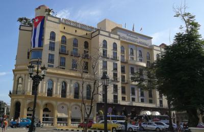 El hotel Iberostar Parque Central de La Habana.