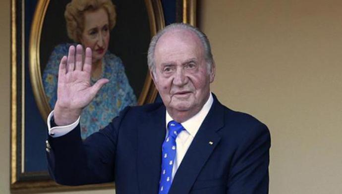 El rey emérito, Juan Carlos I pagó deuda con Hacienda gracias a los préstamos de una decena de amigos