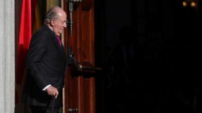 El anterior jefe del Estado, Juan Carlos I
