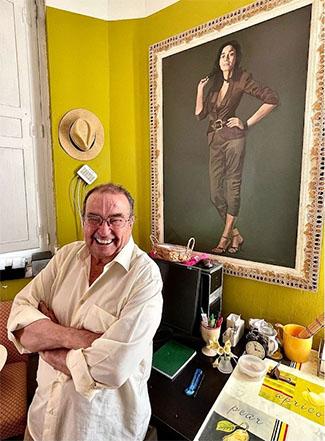 """Alfonso Sebastián, pintor, cumple 80 años: """"Hay que agradecer que el Arte nos deje ir detrás de él en busca de la excelencia"""""""