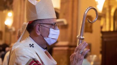El presidente de la Conferencia Episcopal Española y arzobispo de Barcelona, el cardenal Juan José Omella.EFE/ Marta Perez/Archivo