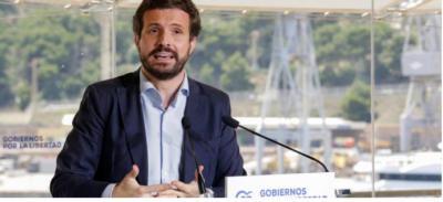 Casado equipara a España con 'Venezuela o Nicaragua' para justificar su bloqueo a la renovación del Poder Judicial