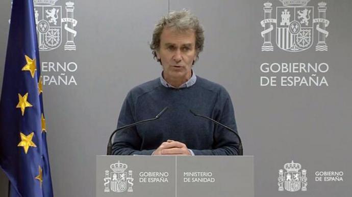 España alcanza los 4.858 fallecidos con coronavirus tras sumar 769 muertes en las últimas 24 horas