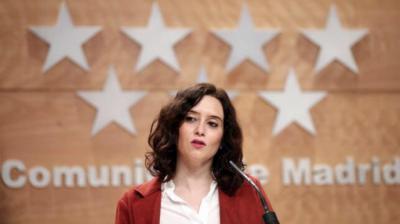 Isabel Díaz Auyuso, presidenta de la Comunidad de Madrid