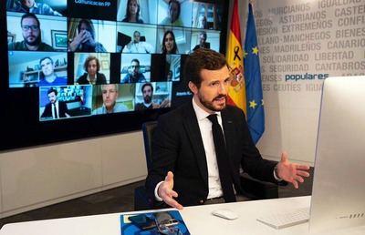 Casado responsabiliza al Gobierno de los fallecidos por coronavirus: 'Cada retraso, mentira o error cuesta vidas'