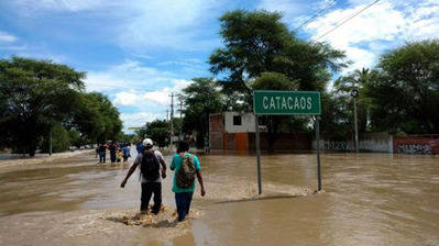 PERÚ: El Niño costero: caudal de los ríos del norte sigue en aumento