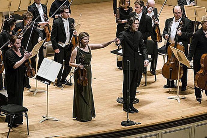 Orchestra of the Age of Enlightenment bajo la dirección del suizo Thierry Fischer