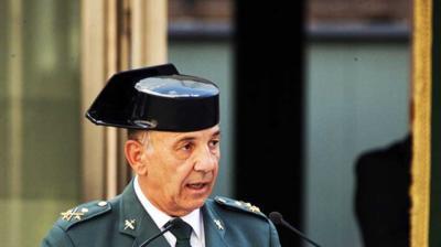 El número tres de la Guardia Civil deja el cargo para ir a otro destino en un nuevo cambio tras el cese de De los Cobos