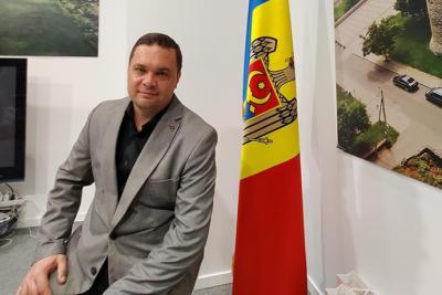 Sergiu L Manea. Representante del Turismo de Moldavia