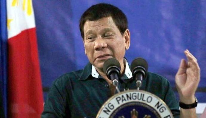 El presidente de Filipinas a su Ejército: