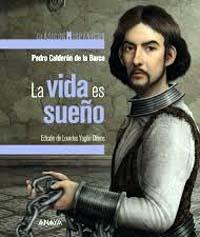 """""""La vida es sueño"""" de Calderón de la Barca, en edición Lourdes Yagüe, libro publicado por Anaya"""