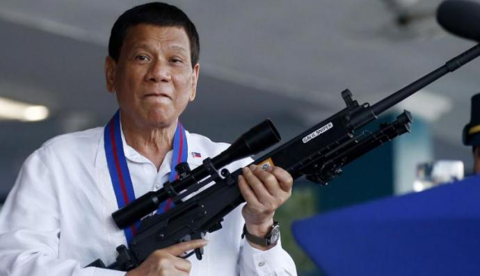 Filipinas: Rodrigo Duterte amenaza con crear escuadrón para matar comunistas.