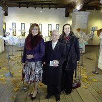 De (i) a (d) Patricia Larrea, José López Martínerz y Mª José López de Arenosa