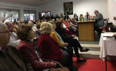 """250 personas asistieron a la presentación del libro de Pedro Arce """"La Pequeña Historia de Las Presas"""""""