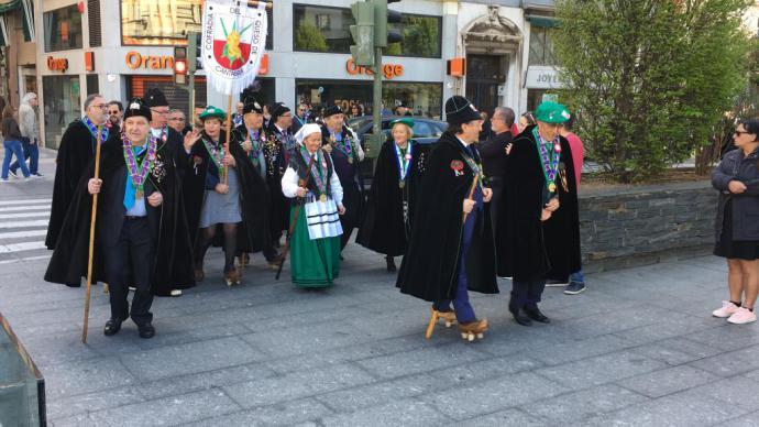 La Cofradía del Queso de Cantabria celebró su XXXV Gran Capítulo en Santander