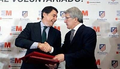 Ignacio González y Enrique Cerezo, en un acto de la Comunidad de Madrid.