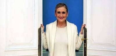 La presidenta de la Comunidad de Madrid, Cristina Cifuentes. MARTA JARA