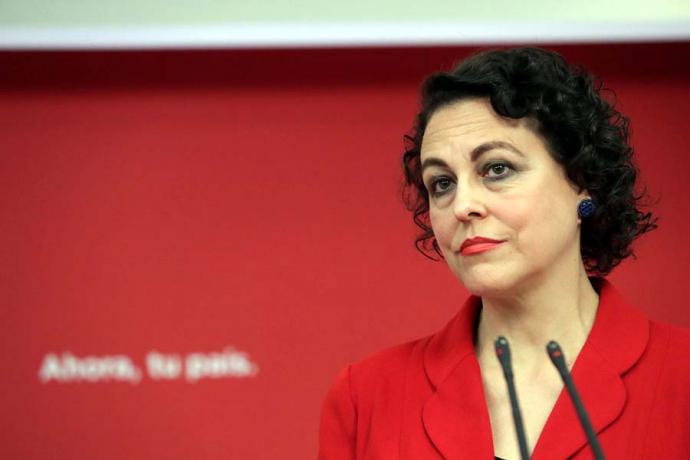 Magdalena Valerio, Ministra de Trabajo y Previsión Social