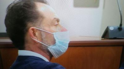 Cambray, durante el juicioTV3