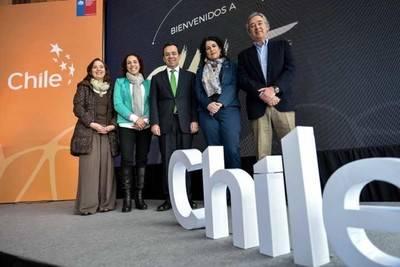 Aumenta la llegada de turistas extranjeros a Chile