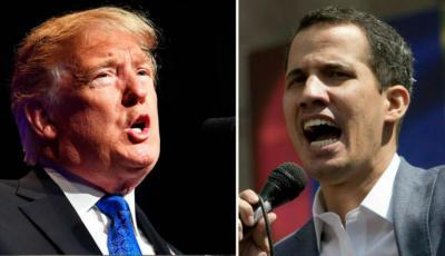 Venezuela: Guaidó dice que ha dialogado con Donald Trump sobre crisis en su país