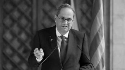 Torra anuncia que convocará elecciones después de que el Parlament apruebe los Presupuestos