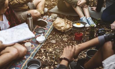 Disfrutar de unas merecidas vacaciones en un camping