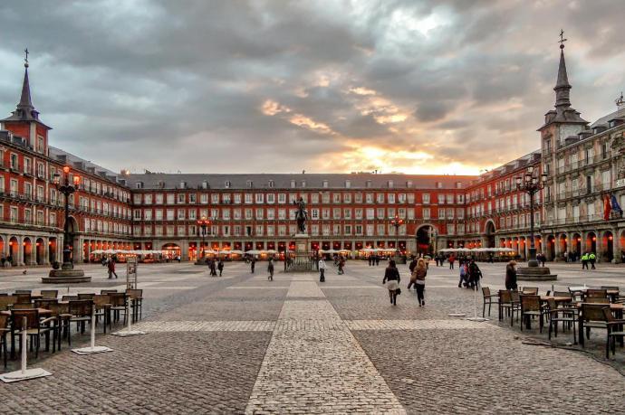 Madrid impone la mascarilla obligatoria(imagen de referencia)