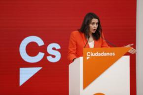 La presidenta de Ciudadanos, Inés Arrimadas, en una imagen de archivo