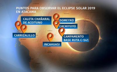 Atacama, Chile, se convierte en el mejor lugar para ver el eclipse solar