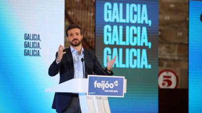 Pablo Casado acusa a Pedro Sánchez de 'ignorar los problemas' de Galicia: 'Solo vino a insultarme'