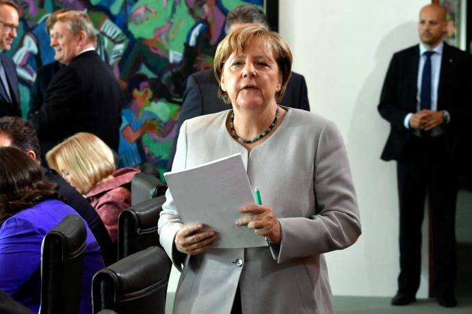 El inesperado cambio de Merkel sobre el matrimonio gay en Alemania