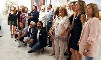 Miguel Santana inaugura un espacio artístico en Madrid con una colectiva de pintores y escultores