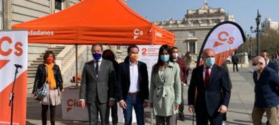 Nueva baja en Ciudadanos: otra diputada de la Asamblea de Madrid se va denunciando 'despotismo' y 'nepotismo' en el partido