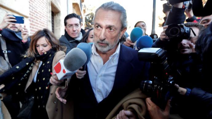 l cabecilla de la trama Gürtel Francisco Correa.EFE