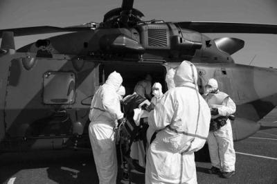 Alemania recibe a pacientes con coronavirus de Francia e Italia