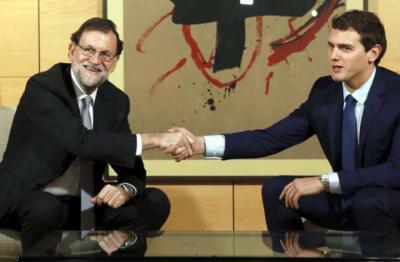 Rajoy y Rivera en una imagen de archivo