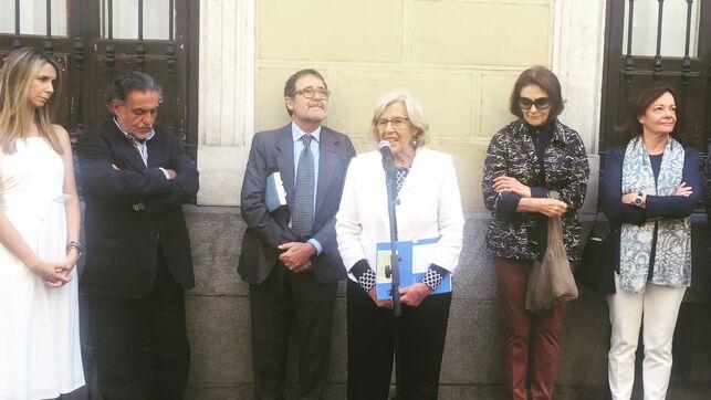 La Alcaldesa en funciones, Manuela Carmena