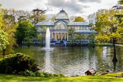 Madrid continuará en Fase 1 (en la imagen de referencia, un aspecto del Parque del Retiro)