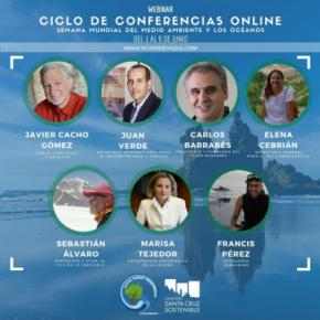 El Ayuntamiento de Santa Cruz de Tenerife celebrara el 1 de junio el Día del Medio Ambiente y de los Océanos con un ciclo de conferencias online